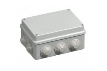 cassetta elettrica bianca